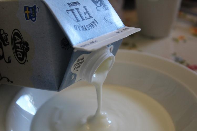 Φτιάχνω ζυμωμένο γάλα Långfil με μαγιά στο σπίτι