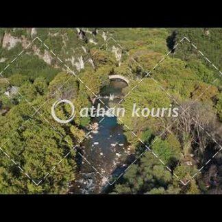Πέτρινο γεφύρι Βοϊδομάτη στην Κλειδωνιά διάρκειας 8 sec V-1006